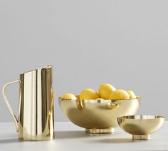 Gold Serving Pitcher