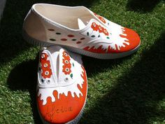 Zapatillas pintura