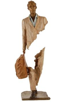 Bronze Sculptures by French Artist Bruno Catalano Modern Art Sculpture, Bronze Sculpture, French Sculptor, Rene Magritte, French Artists, Figurative Art, Oeuvre D'art, Les Oeuvres, Pop Art