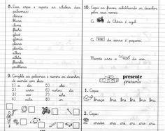 Atividades com BR, CR, DR, FR, GR, PR, TR, VR - Livro Caderno do Futuro 1ª Série. - Aprender e Brincar
