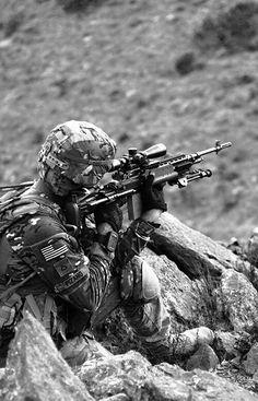 Army M39 sniper (original pin alex Grenlie)