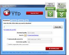 Youtube Downloader | YTD Downloader & Converter Kan fås som freeware, downloader, nemt og uden problemer alt fra youtube.