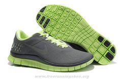 511472-300 Womens Nike Free 4.0 V2 Liquid Lime Reflective Silver