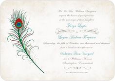 We offer free custom wedding invitations online for you to get unique and special wedding invitation for your own wedding party at very affordable price. Wedding Scene, Wedding Season, Shower Invitations, Invitation Cards, Affordable Wedding Invitations, Vintage Wedding Theme, Response Cards, Bridal Shower, Feather