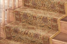 Stair Carpet Runner  (Pattern would show dirt and wear less?)