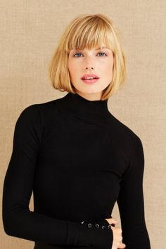 2019 bob hairstyles are incredible don't be afraid when you cut your hair Bob Hairstyles For Thick, Haircuts With Bangs, Cool Hairstyles, Bob Haircuts, Medium Hair Styles, Short Hair Styles, Corte Bob, Pelo Bob, Modern Haircuts