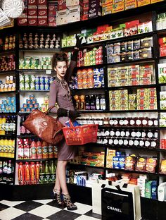 Alana Zimmer by Arthur Elgort. Vogue España ca. 2010