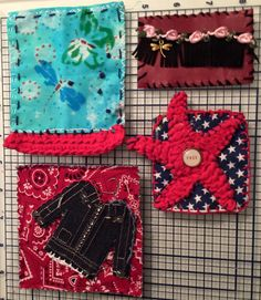 By Penny Carr for The Fabric Patch Swap 2016