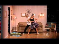 DWTS S20 Week 8: Nastia Liukin & Derek Hough - JIVE ( Trio dance ) - YouTube