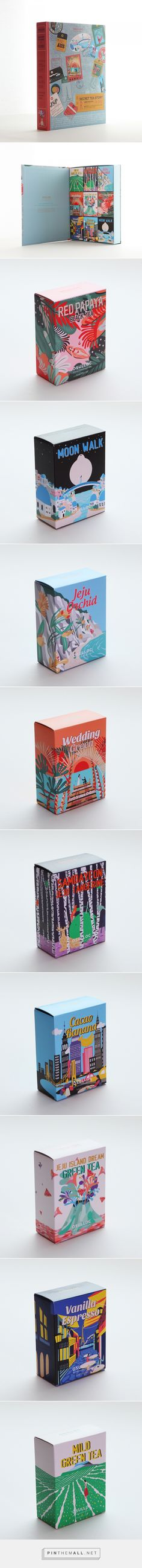 OSULLOC SECRET TEA STORY  | JOSEPH curated by Packaging Diva PD. Tea Packaging from around the world.  오설록 시크릿 티스토리 패키지 작업입니다.