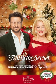 Its a Wonderful Movie - Your Guide to Family and Christmas Movies on TV: The Mistletoe Secret - a Hallmark Channel Countdown to Christmas Movie starring Kellie Pickler, Tyler Hynes, Christopher Russell and Patrick Duffy! Hallmark Channel, Films Hallmark, Hallmark Holiday Movies, Family Christmas Movies, Family Movies, Xmas Movies, Tyler Hynes, Movies Quotes, Patrick Duffy