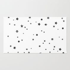 Let it snow Area & Throw Rug by cafelab - $28.00