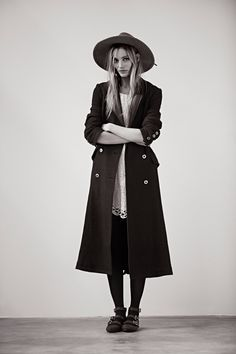 Ieva Leguna Models for Free People November Lookbook