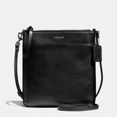 The Bleecker North/south Swingpack In Pebbled Leather from Coach