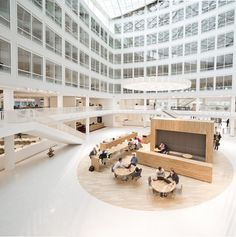 Considered One of the Best Workspaces in Europe: Eneco Headquarters in Rotterdam