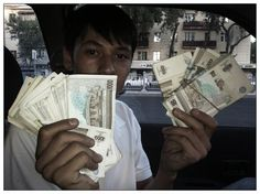Mongol Rally, Day 21: Life is what happens when plans are made. In Uzbekistan, it's easy to get money exchanged, even when the banks are closed. But it may not be the recommended way to do so.