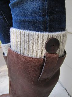 Boot Cuff Boot CuffBoot TopperBoot SockWoolCream and by sugarbshop