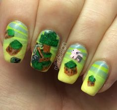 minecraft nails - Google Search