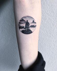 Les tatouages en vignettes circulaires de Eva Krdbk  2Tout2Rien