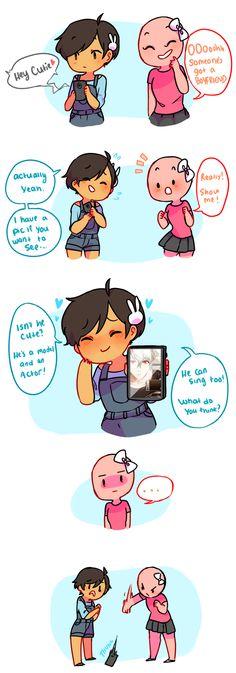 55: Boyfriend?!?!? - image, i am the pink..