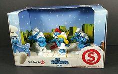 Schleich Smurfs 3D Movie Set of 6 Figurines