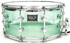 Spaun Drums: Coke Bottle Acrylic Split Snare.  Drummers only need about 8 snares, so I will have one of these.