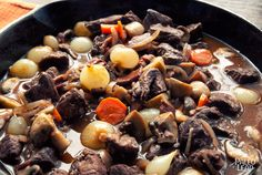 Beef Bourguignon Really tasty if you have the four hours to make it. Worth the time spent!