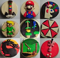 Pokemon cupcakes for a birthday boy (by Angelina Cupcake) | Nerdy ...