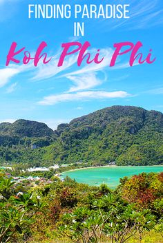 Koh Phi Phi: The ultimate Thai island!  Whether it's adventure or sunbathing, it's got to be Koh #PhiPhi, Thailand. P.S. Seize the moment! http://phi-phi.com