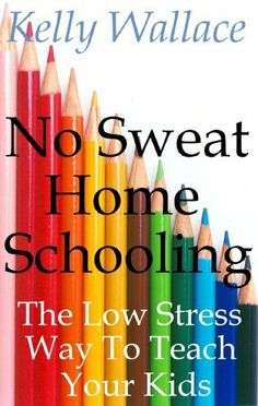 No Sweat Home Schooling - The Low Stress Way To Teach Your Kids by Kelly Wallace, http://www.amazon.com/dp/B00847AQPK/ref=cm_sw_r_pi_dp_ZQ9gqb1N224SH