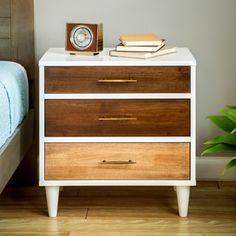 Christian 3-drawer Nightstand   Overstock.com Shopping - The Best Deals on Nightstands