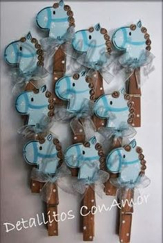 Pregadores - Carinhas de Cavalinhos Distintivos Baby Shower, Cowboy Baby Shower, Baby Shower Favors, Shower Party, Baby Shower Parties, Baby Shower Themes, Baby Shower Decorations, Baby Shawer, Baby Party