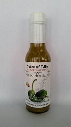 Not So Hot Sauce by SpiceOfLifeTO on Etsy