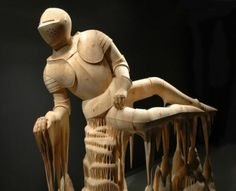 Потрясающие деревянные скульптуры (34 фото)