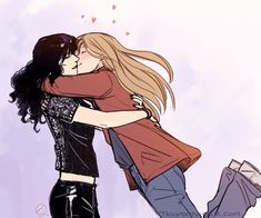 Laura and Carmilla