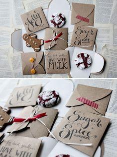 DIY - Cookie Envelope Template (3 Designs) - Free PDF Printable