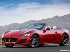 2013 Maserati GranCabrio Sport. This is going to be my car one day!!! :D