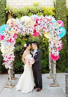 123 Best Origami Wedding Images On Pinterest