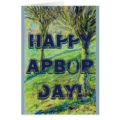 Happy Arbor Day Card