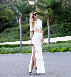 Shop this look on Kaleidoscope (top, skirt) http://kalei.do/Wv0C9Gu5EcOBdA4b