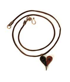 Paper Heart Pendant - Making Jewellery
