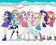 #1665223 - applejack, boots, clothes, cowboy hat, denim skirt, dress, equestria girls, fluttershy, hat, humane five, humane seven, humane six, jacket, leather jacket, official, official art, pantyhose, pinkie pie, rainbow dash, rarity, safe, sandals, sci-twi, shoes, skirt, stetson, sunset shimmer, twilight sparkle - Derpibooru - My Little Pony: Friendship is Magic Imageboard