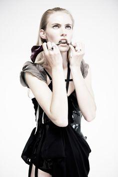 Magazine: STIL Australia Model: Emily Baker Photography: David K. Romantic Period, Dance Outfits, Gothic Lolita, Leather Fashion, Burlesque, Corset, Ballet Skirt, Style Inspiration, Womens Fashion