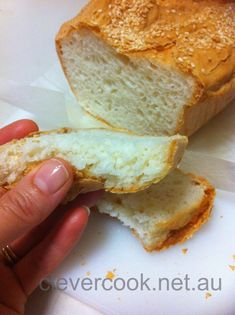 Clever cook gluten free bread thermomix - Slather with butter! Sugar Free Recipes, Gf Recipes, Gluten Free Recipes, Cooking Recipes, Lunch Recipes, Bread Recipes, Recipies, Thermomix Bread, Gluten Free Sandwiches