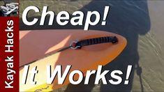 Kayak Anchor Trolley, Kayak Fishing Tips, Kayak Accessories, Kayak Paddle, Saltwater Fishing, Kayaking, Canoeing, Drill, River Fish