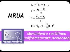 Movimiento rectilíneo uniformemente acelerado MRUA | Fisica prepa