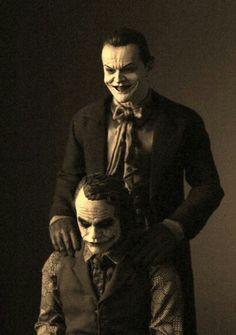 Heath Ledger & Jack Nicholson