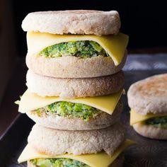 Healthy Freezer Breakfast Sandwiches Make your own healthy  Mein Blog: Alles rund um Genuss & Geschmack  Kochen Backen Braten Vorspeisen Mains & Desserts!