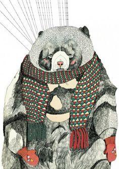 Julia Pott dresses the bears