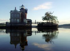Step back in time at the historic Saugerties Lighthouse. Image courtesy of Saugerties Lighthouse.